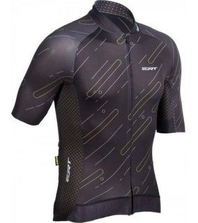 Camisa Ert Premium Black Ciclismo Mtb Speed + Brinde