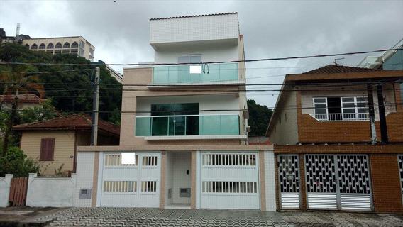 Casa De Condomínio Com 2 Dorms, Marapé, Santos - R$ 500 Mil, Cod: 176 - V176
