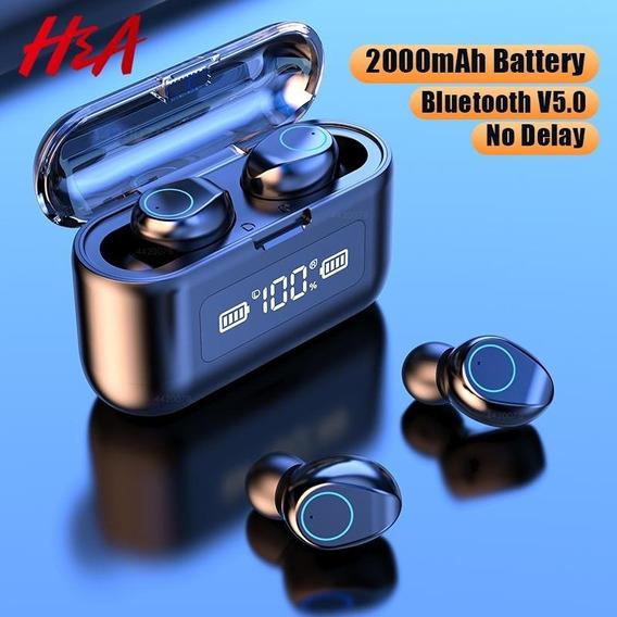 H&a Fones De Ouvido Bluetooth Resistente À Água
