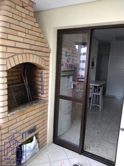 Apartamento Alto Padrão | Sacada Gourmet | 3 Suítes 3 Vagas| Santo André - 103-u-sa