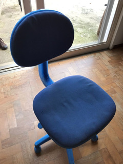 Cadeira De Escritório Secretária Laminada Giratória