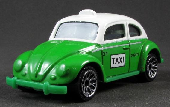 G3 1/58 Matchbox Fusca Volkswagen Beetle Taxi 2003 Hero City