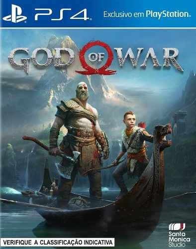 God Of War Ps4 Psn Code 1 Envio Na Hora Português