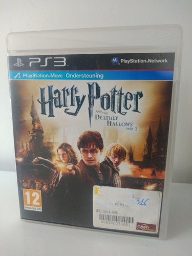 Jogo Harry Potter E As Relíquias Da Morte Parte 2 Ps3