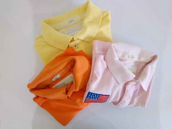 Camisetas Kit C/3 Camisetas Tamanho L Usada
