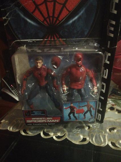 Spiderman Wrestler Del 2002 Toybiz (preguntar Para Negociar)