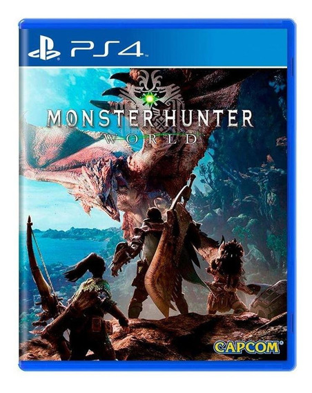 Monster Hunter World Ps4 Mídia Física