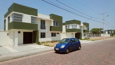 Alquilo Casa Nueva En Vía A Samborondón, Urb. San Antonio