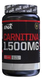 Carnitina Ena 1500 Mg Pro Burn X 60 Caps Quemador De Grasa
