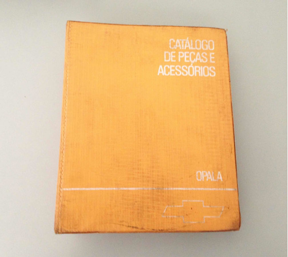 Catálogo Original Gm Opala Usado