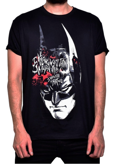 Playera Batman I Know How You Think