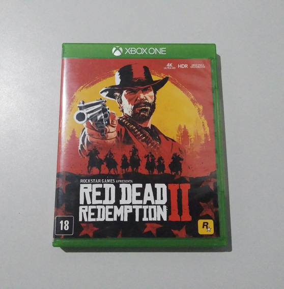 Red Dead Redemption 2 Xbox One Mídia Física Original
