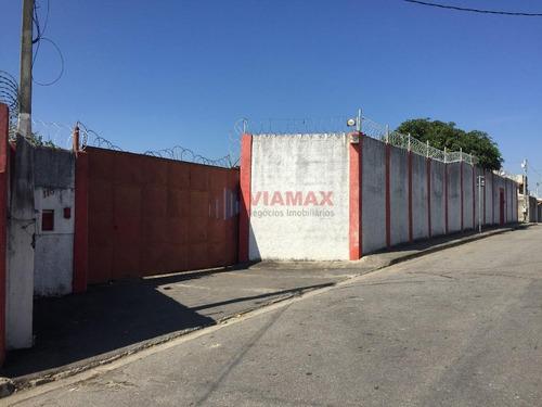 Imagem 1 de 24 de Terreno Comercial Com Infraestrutura De Escritório E Galpão À Venda, Monte Castelo, São José Dos Campos. - Te0209