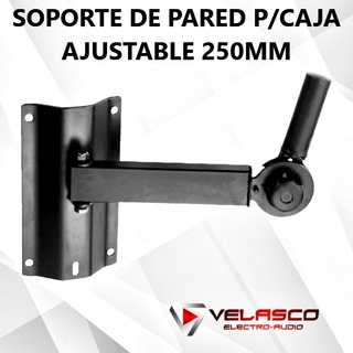Soporte De Pared Para Caja Ajustable 250mm
