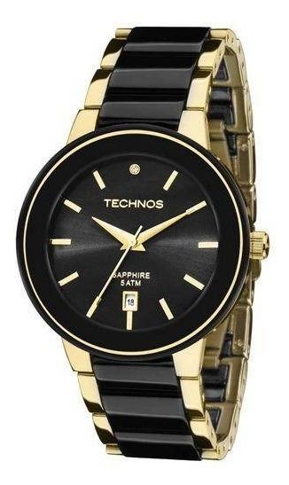 Relógio Technos Ceramic/sapphire Analógico 2115krs/4p
