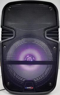 Bafle Potenciado Recargable Bluetooth Usb Sd Control Remoto