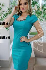 Vestido Moda Evangélica - Preto - G