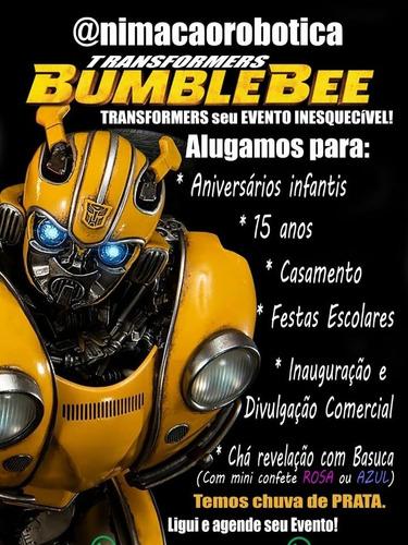 Imagem 1 de 5 de Alugo Bumblebee Dos Transformers Para Eventos.