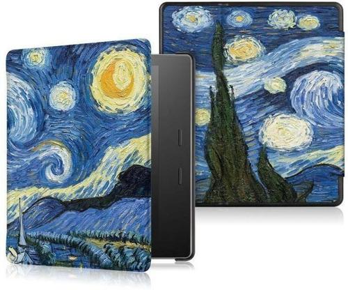 Imagen 1 de 4 de Carcasa Para Kindle Oasis 2019 Funda Van Gogh Estuche