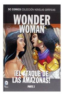 Dc Comic Novelas Graficas Nº 91 Wonder Woman El Ataque P2