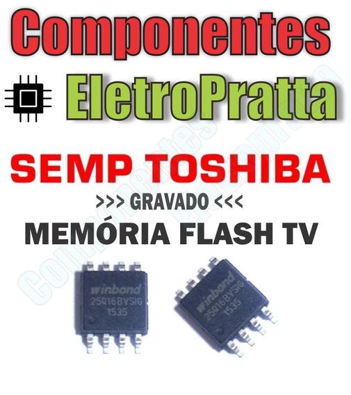 Memoria Flash Tv Semp Toshiba Dl2971(b)w Chip Gravado - U103