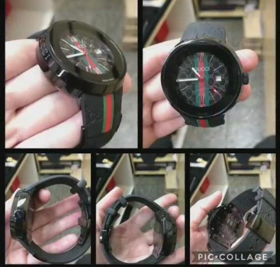 Relógio De Grife . 3 Cores Disponíveis
