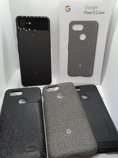 Google Pixel 3 128gb Negro Incl. Battery Case Y Pixel Stand