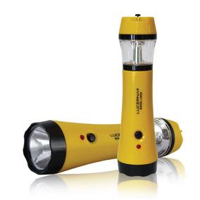 Linterna-doble Función De Led Recargable