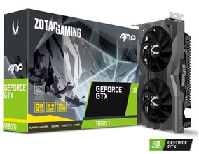 Geforce Zotac Gtx 1660ti Amp! Edition 6gb - Zt-t16610d-10m