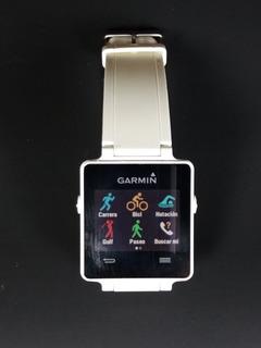 Reloj Garmin Vivoactive Gps Blanco Multideporte