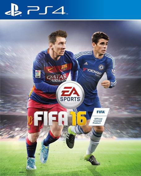 Jogo Fifa 16 Playstation 4 Ps4 100% Português Frete Grátis