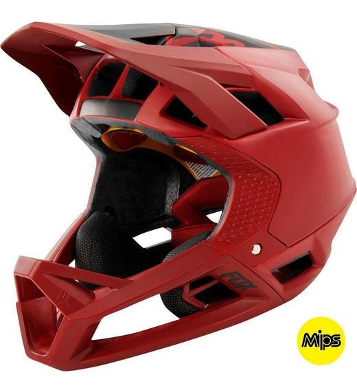 Casco Bicicleta Proframe Matte Rojo Fox