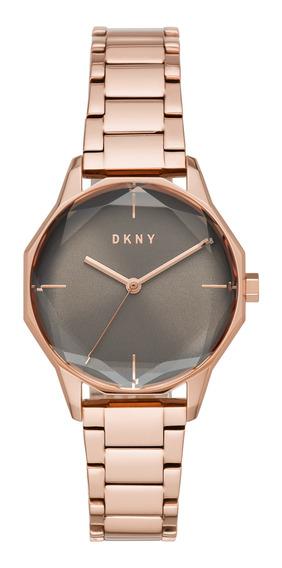 Reloj Dama Dkny Ny2794 Color Oro Rosado De Acero