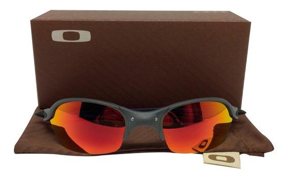 Óculos Oakley Romeo2 Xmetal Vermelho