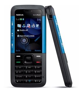 Nokia 5310 Color Negro Con Azul Libre Original