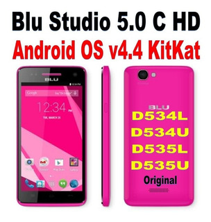 Software Original Blu Studio 5.0 C Hd D534u / D534l /d535u-l