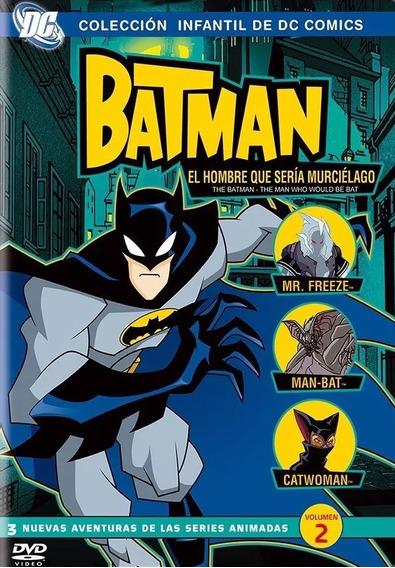 Batman El Hombre Que Seria Murcielago Volumen 2 Dos Dvd