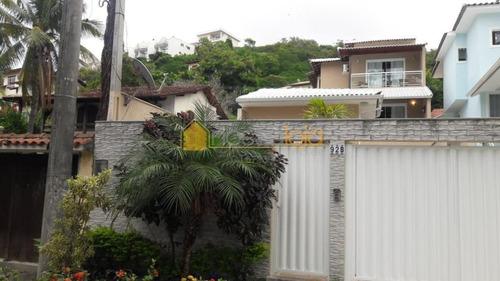 Casa Com 4 Dormitórios À Venda, 190 M² Por R$ 1.500.000 - Camboinhas - Niterói/rj - Ca0953