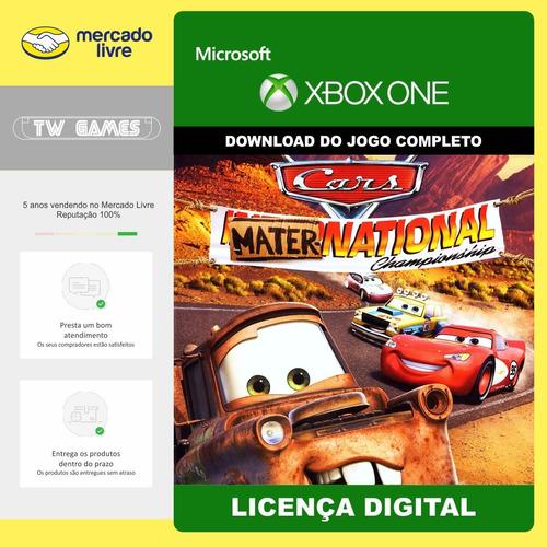 Carros Mater National Digital Retrocompativel Xbox One