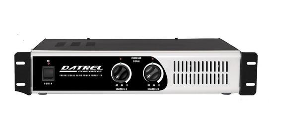 Amplificador De Potencia Profissional Pa1800 300w Rms Total