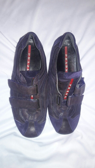 No Ma Zapatos Prada Dama Talla 4 Mx 37 Ee
