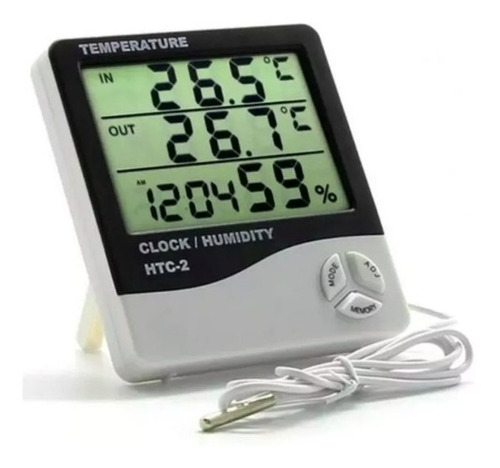 Imagen 1 de 1 de Termometro Higrometro Digital Sensor Temperatura Y Humedad