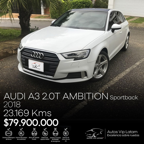 Audi A3 2.0 Ambition Sportback 2018