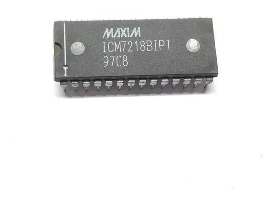 Componente Eletrônico Icm7218bipi Dip / Icm7218