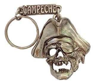 Llavero Artesanal Pirata Campeche