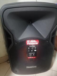 Bafle Amplificado Power & Co. Modelo Xpl-15000bk