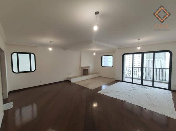 Apartamento Com 4 Dormitórios À Venda, 202 M² Por R$ 2.500.000,00 - Perdizes - São Paulo/sp - Ap46575