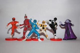 Figuras Power Rangers La Película Tropical 1995