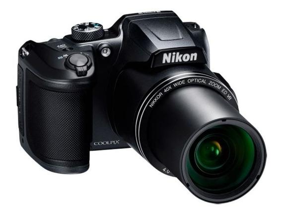 Câmera Nikon Colpix B500 + Bolsa Brinde
