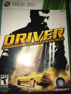Videojuego Driver San Francisco Para Xbox 360